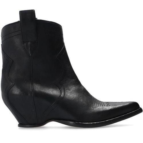 Acne Heeled ankle boots