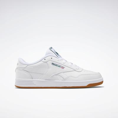 Reebok Women's Club MEMT Shoes in White/Clover Green/White Size 5 - Court,Lifestyle Shoes