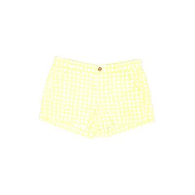Gap Khaki Shorts: Green Print Bo...