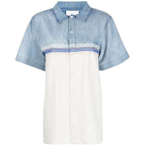 Koche Hemd mit Einsätzen