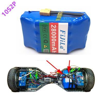 10S2P – batterie Lithium-ion 36V...