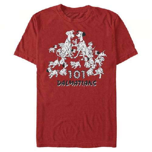 Dalmatian Group Gruppe - Disney 101 Dalmatiner - Männer T-Shirt