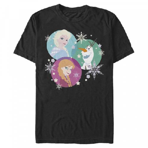 Tri Sphere Snow Gruppe - Disney Frozen - Männer T-Shirt