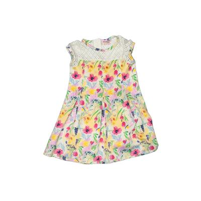Juicy Couture Dress - A-Line: Yellow Floral Skirts & Dresses - Used - Size 6