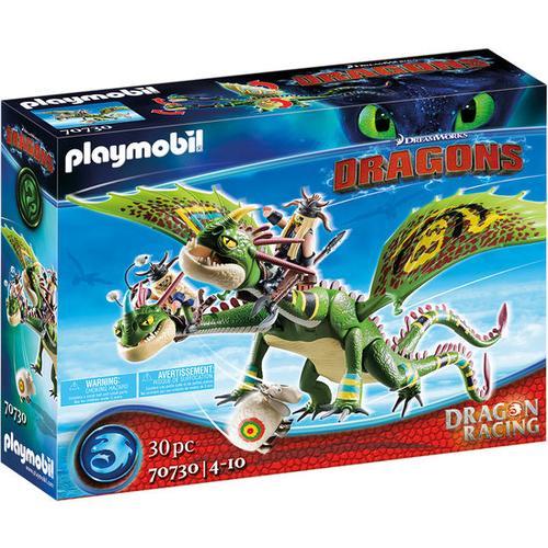 PLAYMOBIL® Dragons 70730 Dragon Racing: Raffnuss und Taffnus, bunt