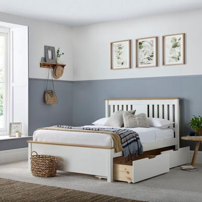 Chester Bed White Double