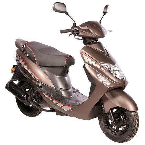 AGM MOTORS Mofaroller GMX 460 Sport, 50 cm³, 25 km/h, Euro 4, 2,3 PS braun Mofas Mopeds Motorroller
