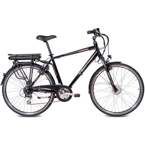 Chrisson E-Bike E-GENT, 8 Gang, Shimano, RD-M360-SGS, Frontmotor 250 W schwarz E-Bikes Fahrräder Zubehör