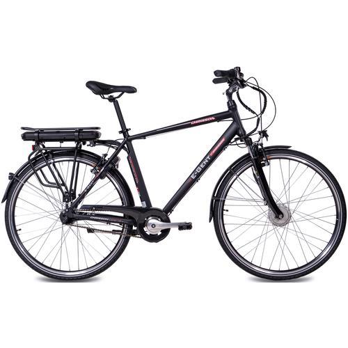 Chrisson E-Bike E-GENT, 8 Gang, Shimano, SG-C3000-7C, Frontmotor 250 W schwarz E-Bikes Fahrräder Zubehör