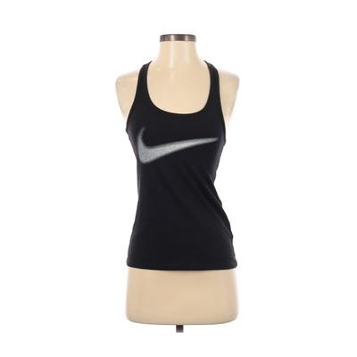 Nike Sports Bra: Black Solid Act...