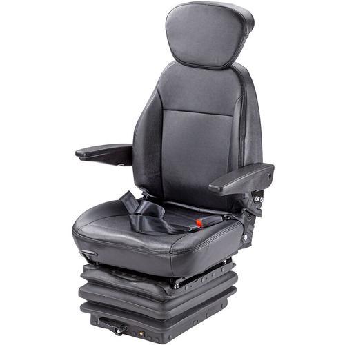 Dema - Traktorsitz Schleppersitz YS15 Traktor Schlepper Sitz mit Kopfstütze Armlehnen
