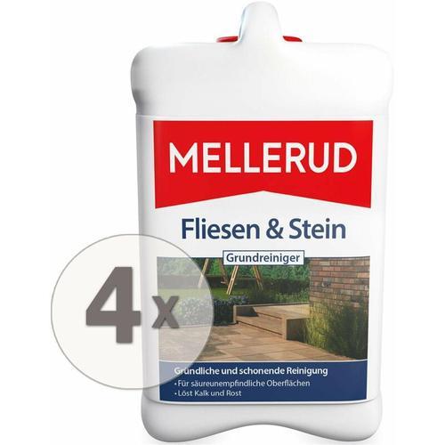 4 x 2,5 Liter Fliesen und Stein Grundreiniger - Mellerud