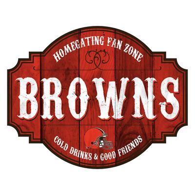Cleveland Browns 24'' Homegating Tavern Sign