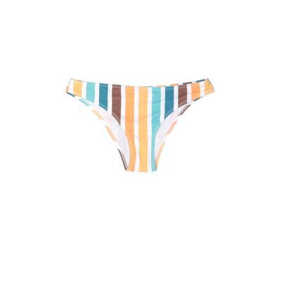Swimsuit Bottoms: Blue Print Swimwear - Size Medium