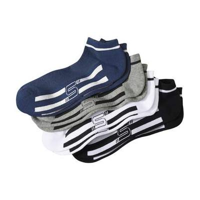 Pack of 4 Men's Sporty Ankle Soc...