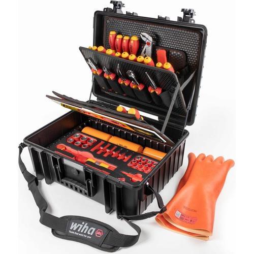 Werkzeugkoffer Set XL eMobility 77-tlg. - 44198 - Wiha