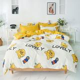 Parure de lit Disney Winnie Bear...