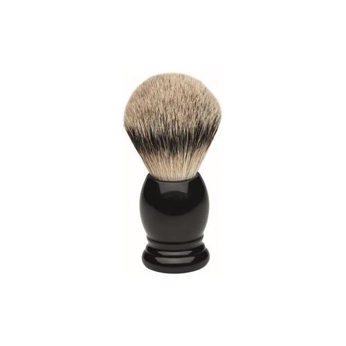 ERBE Shaving Shop Rasierpinsel Rasierpinsel Silberspitz Schwarz 1 Stk.