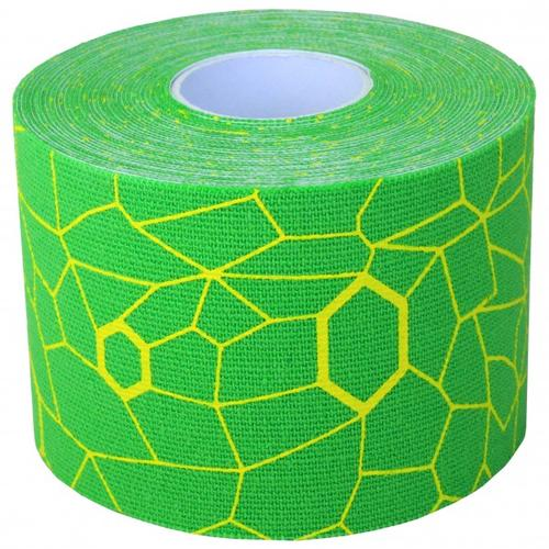Thera-Band - Kinesiology Tape Rolle - Tape Gr 5 m - 5 cm grün/ gelb