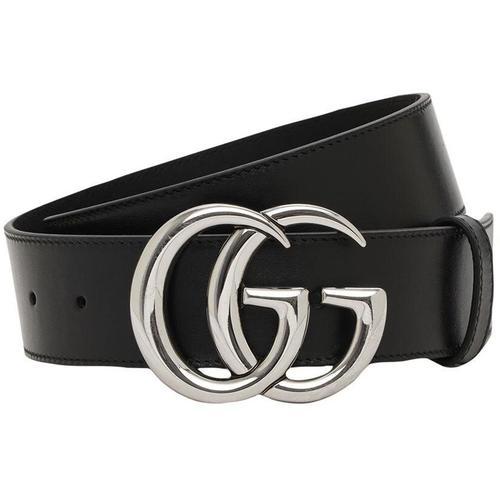 Gucci 4cm Breiter Ledergürtel