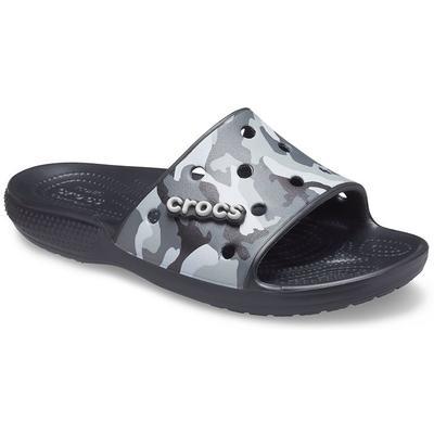 Crocs Black Classic Crocs Printe...
