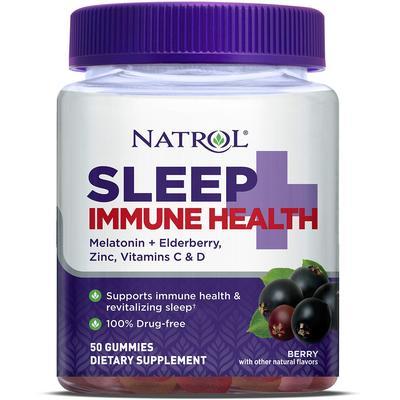 Natrol Sleep + Immune Health Gummies-50 Gummies
