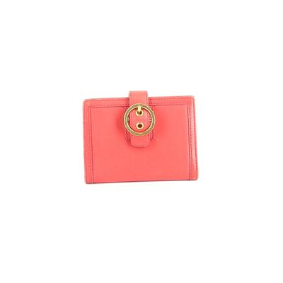 Coach Factory Leather Wallet: Pink Solid Bags