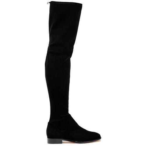 DKNY Lyra Over-the-knee Velvet Boots