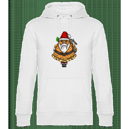 Weihnachtsmann Pizza - Unisex Hoodie