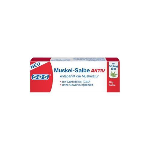 SOS Gesundheit Schmerz- & Wärmetherapie Muskel-Salbe Aktiv 20 g