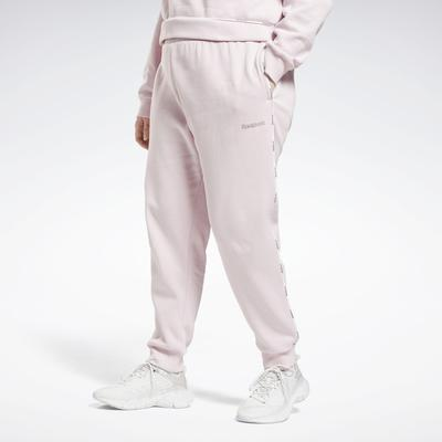 Reebok Women's Piping Joggers (Plus Size) in Frost Berry Size 4X - Training Apparel