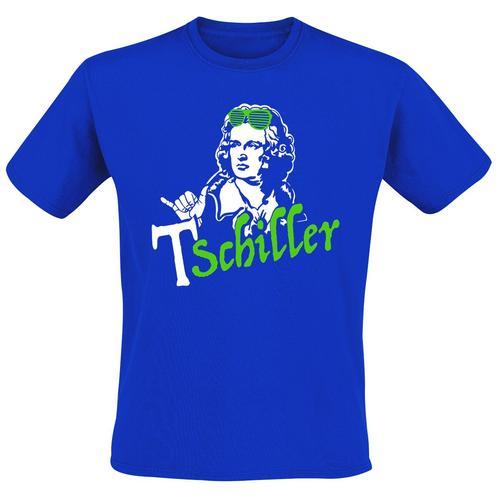 Tschiller Herren-T-Shirt - blau