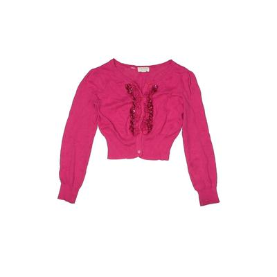 The Children's Place - The Children's Place Cardigan Sweater: Pink Tops - Size 7