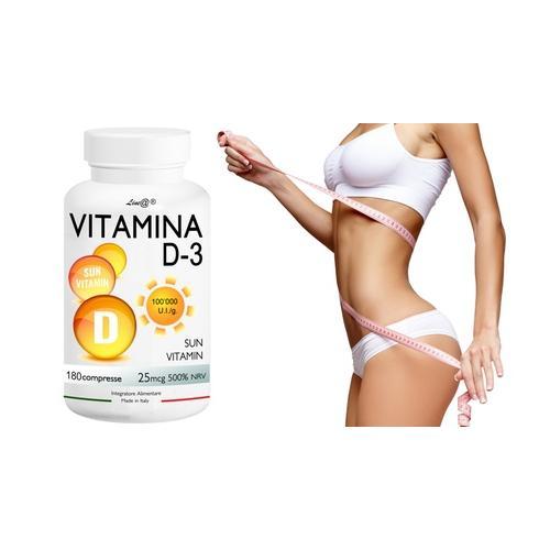 Lineadiet Vitamin D3 Tabletten: 60 Tabletten (3 6 g)