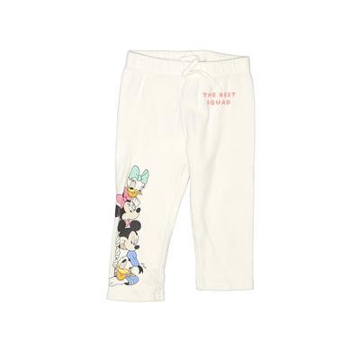 Zara X Disney Sweatpants - Elastic: White Sporting & Activewear - Size 110