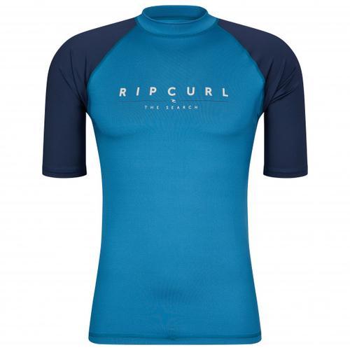 Rip Curl - Shockwaves S/S UV - Lycra Gr L;S;XL blau;grau/rot