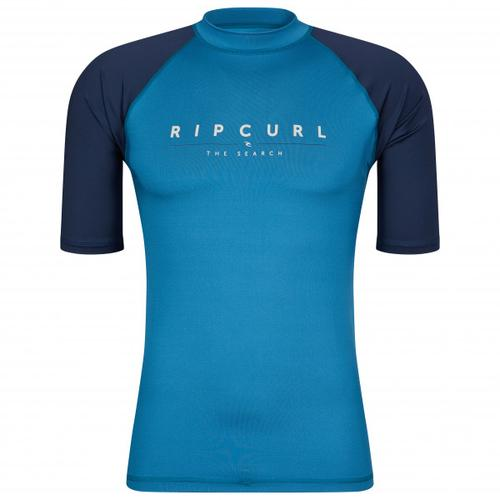 Rip Curl - Shockwaves S/S UV - Lycra Gr L blau