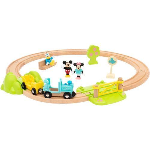 BRIO Spielzeug-Eisenbahn Micky Maus, FSC - schützt Wald weltweit bunt Kinder Kindereisenbahnen Autos, Eisenbahn Modellbau