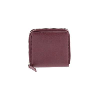 Barneys New York Wallet: Burgundy Solid Bags