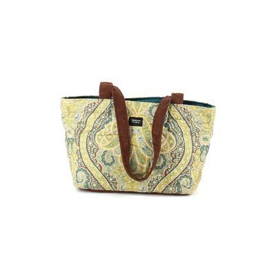 Madison Handbags Shoulder Bag: Green Color Block Bags