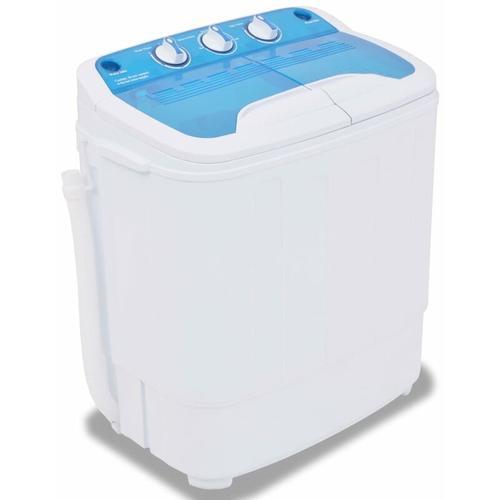Mini-Waschmaschine mit Schleuder und 2 Kammern 5,6 kg