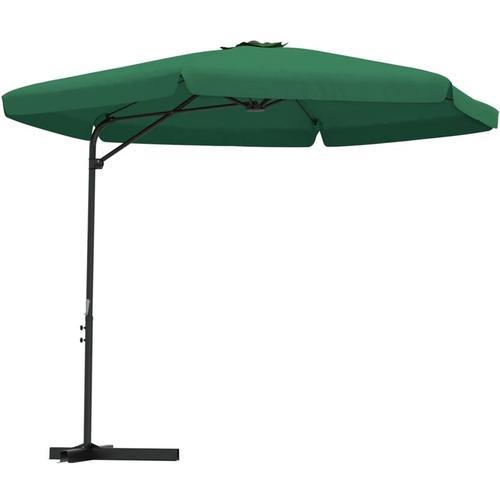 Sonnenschirm mit Stahl-Mast 300cm Grün
