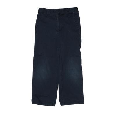 Lee Khaki Pant: Blue Solid Botto...