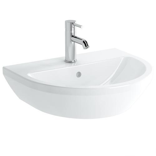 Vitra Integra Waschtisch 55 cm rund Weiß, 7067B403-0001 7067B403-0001