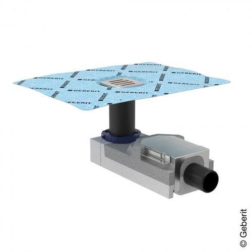 Geberit Universal Duschbodenablauf für Estrichhöhe 90-220 mm 154050001