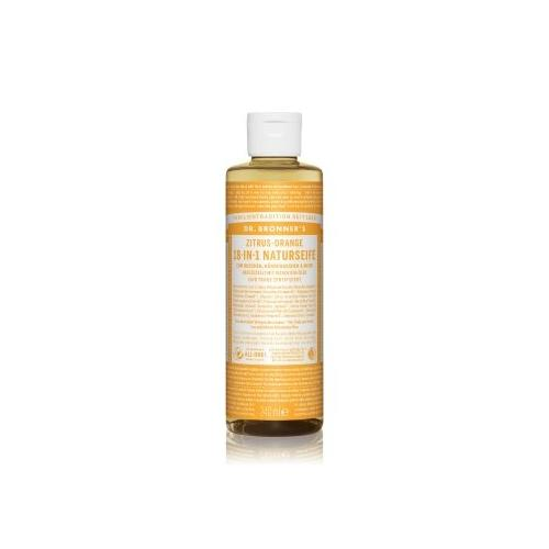 DR. BRONNER'S 18-in-1 Zitrus-Orange Flüssigseife 240 ml