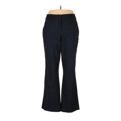 Lane Bryant Dress Pants - High Rise: Blue Bottoms - Size 18 Plus