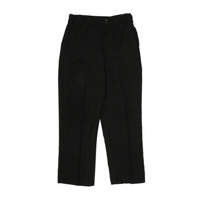 Dress Pants - Elastic: Black Bottoms - Size 4