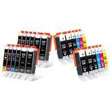 Canon : Pack de 6 cartouches PGI...