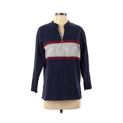 Laura Gayle Sweatshirt: Blue Sol...